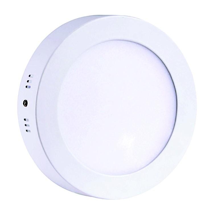 Downlight LED superficial cuadrado 18W Blanco neutro