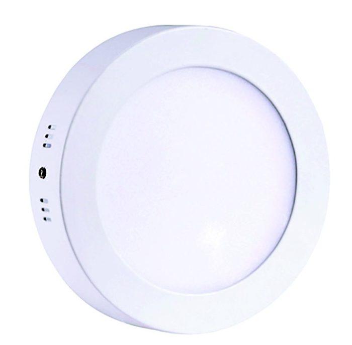 Downlight LED superficial cuadrado 25W Blanco neutro