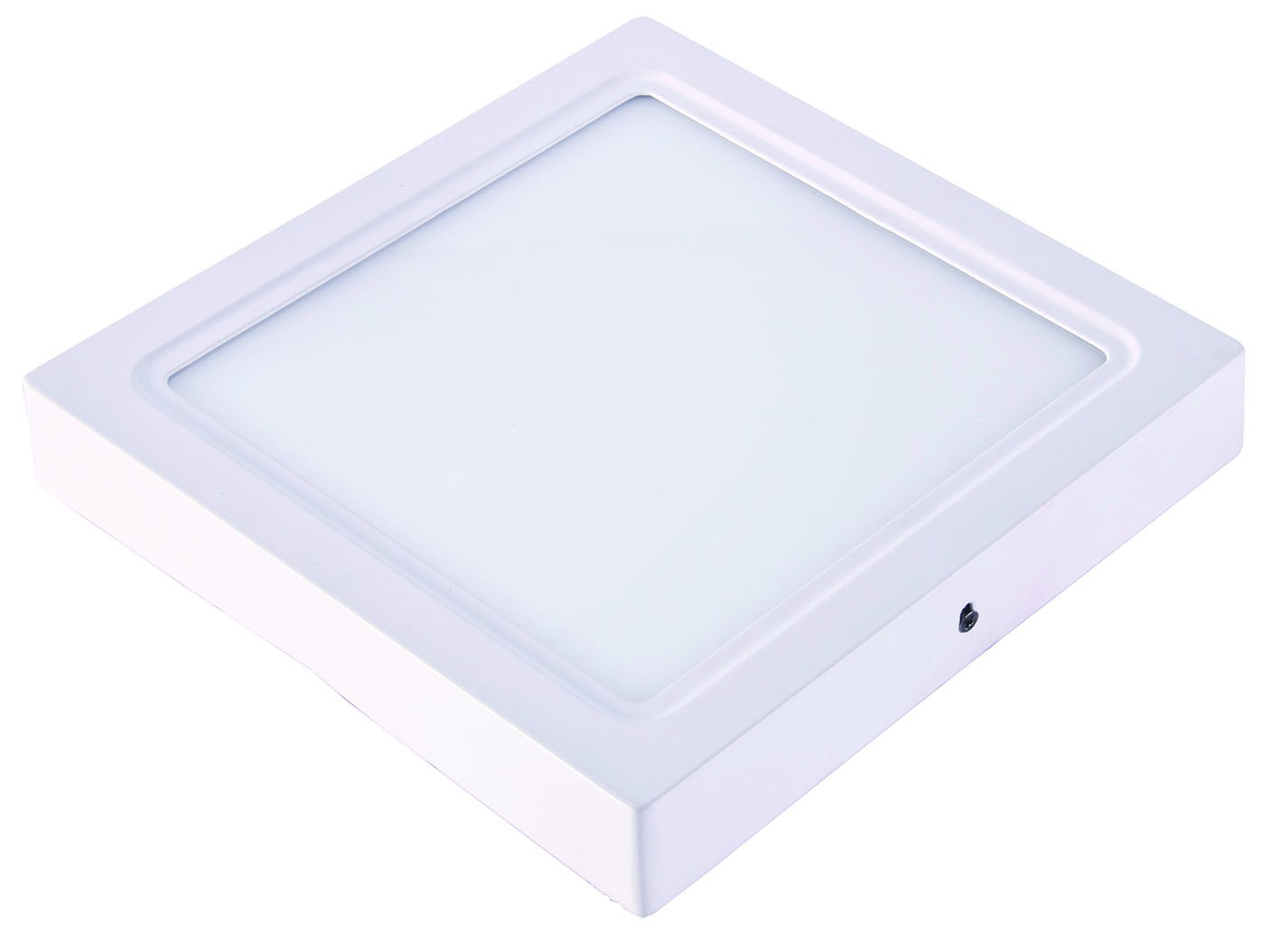 DOWNLIGHT LED 6W SUPERFICIAL CUADRADO 120x120mm BLANCO CÁLIDO