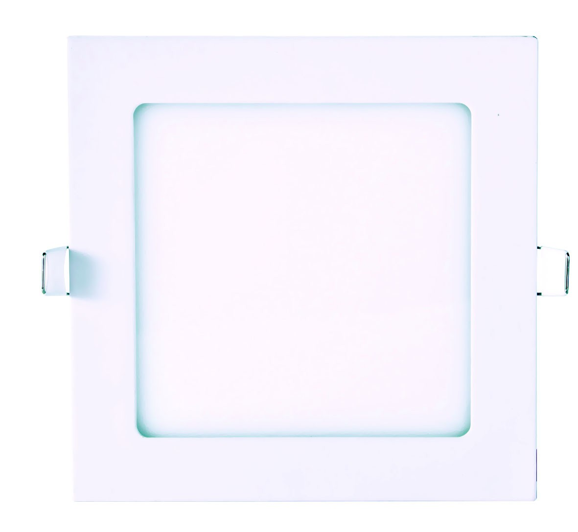 DOWNLIGHT LED 18W EMPOTRABLE CUADRADO EXTRAPLANO 225x225mm BLANCO FRÍO