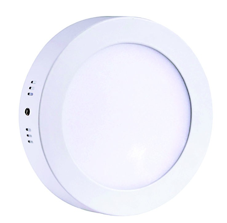 Downlight LED superficial cuadrado 18W Blanco neutro