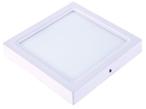 DOWNLIGHT LED 18W SUPERFICIAL CUADRADO 225x225mm BLANCO CÁLIDO