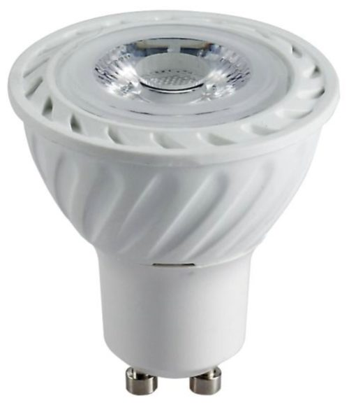 LÁMPARA DICROICA LED COB GU10 5W BLANCO CALIDO